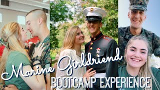 MARINE GIRLFRIEND BOOTCAMP EXPERIENCE || Story Time And Advice