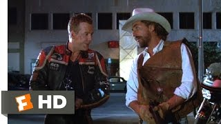 Harley Davidson and the Marlboro Man (4/12) Movie CLIP - Marlboro's Birthday Present (1991) HD