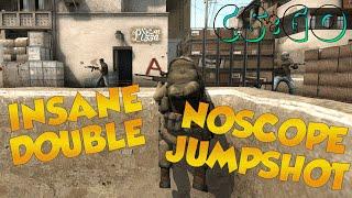 CS:GO - Legit Play? | Double Noscope Jumpshot on Dust2 !!