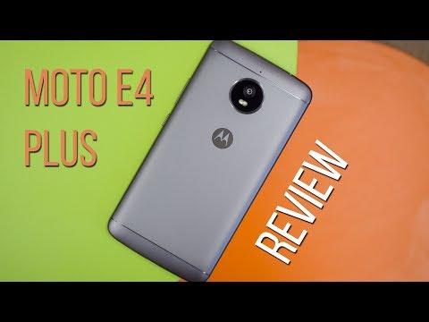 Motorola Moto E4 Plus Review