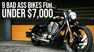 9 Best Motorcycles Under $7000