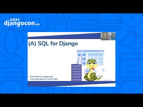 DjangoCon 2021 | A SQL for Django | Stefan Baerisch thumbnail