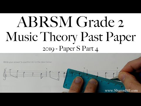 ABRSM Music Theory Grade 2 Past Exam Practice Paper 2019 S ...