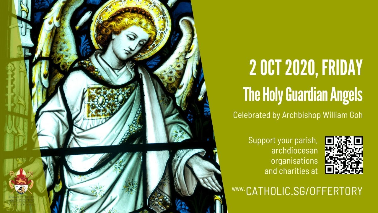 Catholic Weekday Mass Today Online Friday 2 October 2020, The Holy Guardian Angels 2020