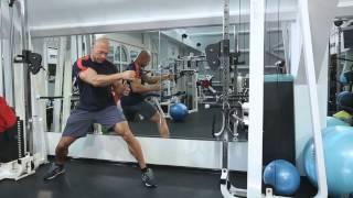 Функциональная тренировка мышц спины на блоке