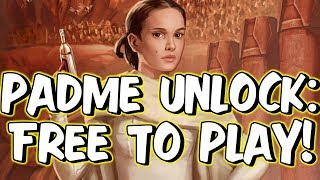 PADME UNLOCK! No Droideka or B1 Necessary?! | Star Wars: Galaxy of Heroes