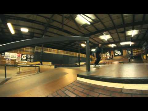 First Session on Skatepark of Tampa's New Street Course for 2012