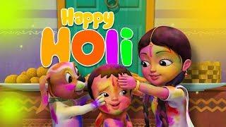 Holi Bengali Song | Bengali Rhymes for Children | Infobells