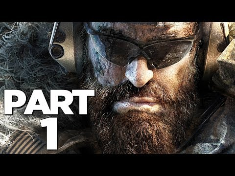 GHOST RECON BREAKPOINT Walkthrough Gameplay Part 1 - INTRO (FULL GAME)