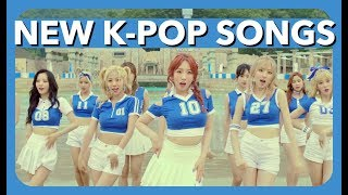 NEW K-POP SONGS - JULY 2017 (WEEK 3)