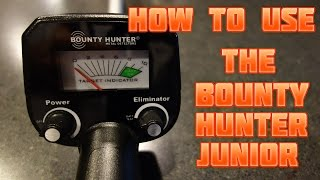 How to Use the Bounty Hunter Junior Metal Detector