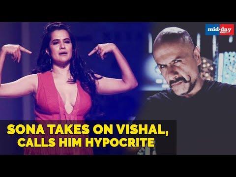 Sona Mohapatra takes on music-composer Vishal Dadlani, calls him hypocrite