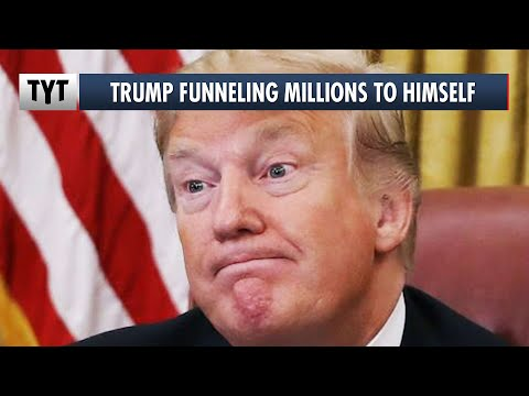 Trump Funneling Millions To HIMSELF