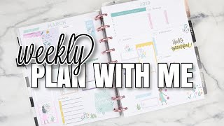 Weekly Plan With Me | Dashboard Layout | At Home With Quita