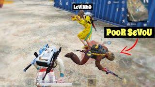 Levinho & I Bullied Sevou 😂   PUBG Mobile   Menace Gameplay!