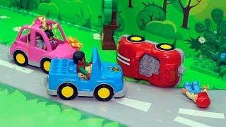 Щенячий патруль новые серии мультик с игрушками на русском - Бант и авария на дороге! Мультики 2017