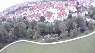 preview picture of video '2012-07-03 ArduCopter in Lauf'