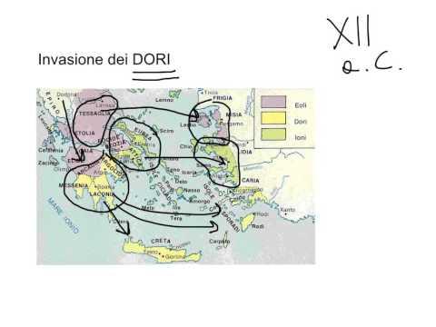 Le origini della civiltà greca - una periodizzazione