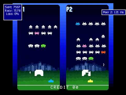 Space Invaders DX - MAMEHub Netplay - MAME online