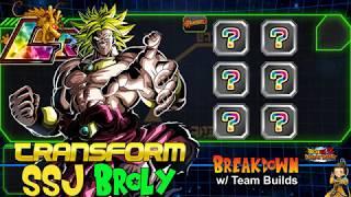 dokkan battle broly lr tec team - TH-Clip