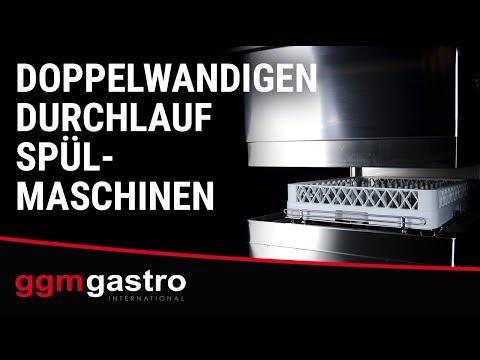 doppelwandigen Durchlaufspülmaschinen der Serie DS