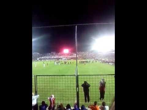 """""""Hinchada de san Martín de tucuman vs brown de madryn"""" Barra: La Banda del Camion • Club: San Martín de Tucumán"""