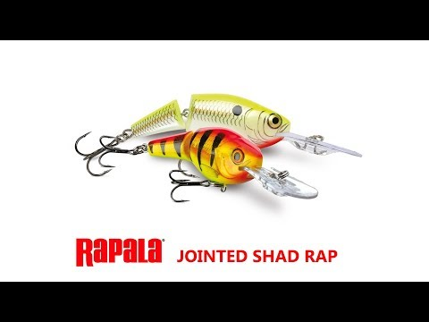 Воблер RAPALA JOINTED SHAD RAP JSR07-YP фото №2