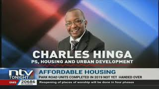 Delays have hit the handing over of housing units in the first