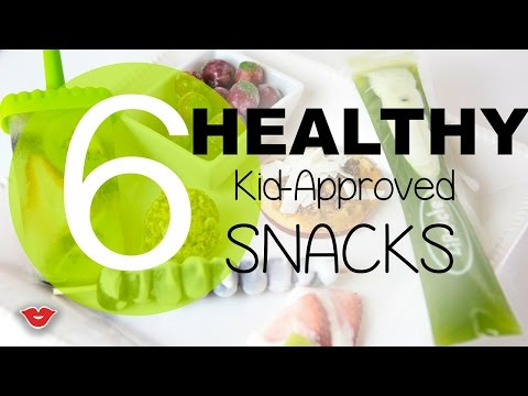 Video Healthy Snacks For Kids Challenge | Alison from Millennial Moms