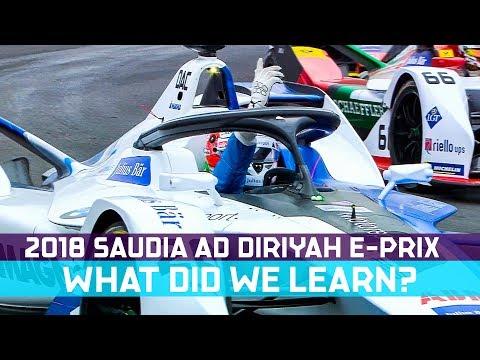 What We Learned At The 2018 SAUDIA Ad Diriyah E-Prix | ABB FIA Formula E Championship
