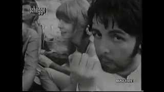 The Beatles In Ashram, Rishikesh, India (1.03.1968) (Filmed 15.03.1968)