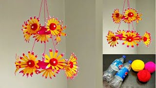 diy-best-out-of-waste-plastic-bottles-and-wool-best-reuse-idea