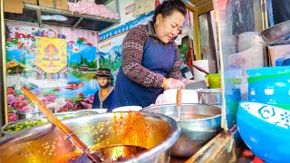 Street Food in Tibet - ULTIMATE TIBETAN FOOD TOUR + Amazing Potala Palace in Lhasa!