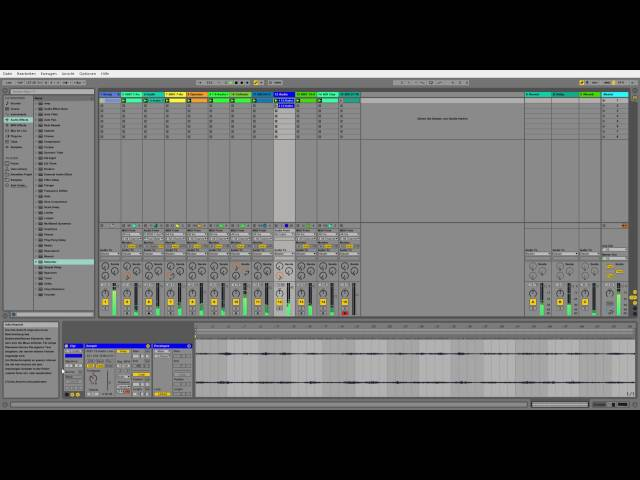 Sonntagsjam Part 3 Techno (Ableton Live 2016)