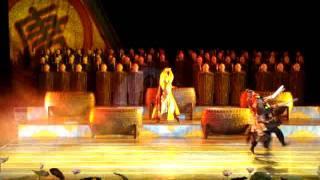 201106陜西西安 大唐芙蓉園 夢回大唐4 盛唐歌舞文化 詩樂歌舞劇 鳳鳴九天劇場