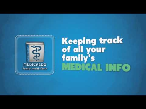 Video of Medicalog for Families