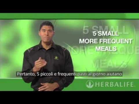 Perdere il peso da cibo monotono