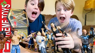 WWE Superstar Extreme Workout! Ethan and Cole Train like their favorite WWE Athletes!
