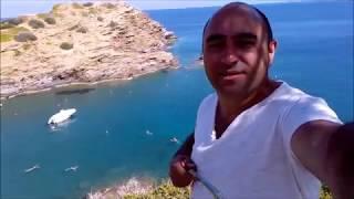 остров Крит деревня Бали октябрь месяц...