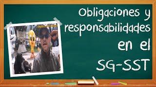 Obligaciones y responsabilidades en SGSST