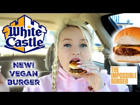 NEW! White Castle Vegan Impossible Burger Sliders – Fast Food Review