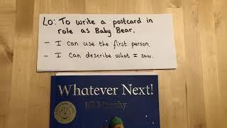 Year 1 - writing a postcard
