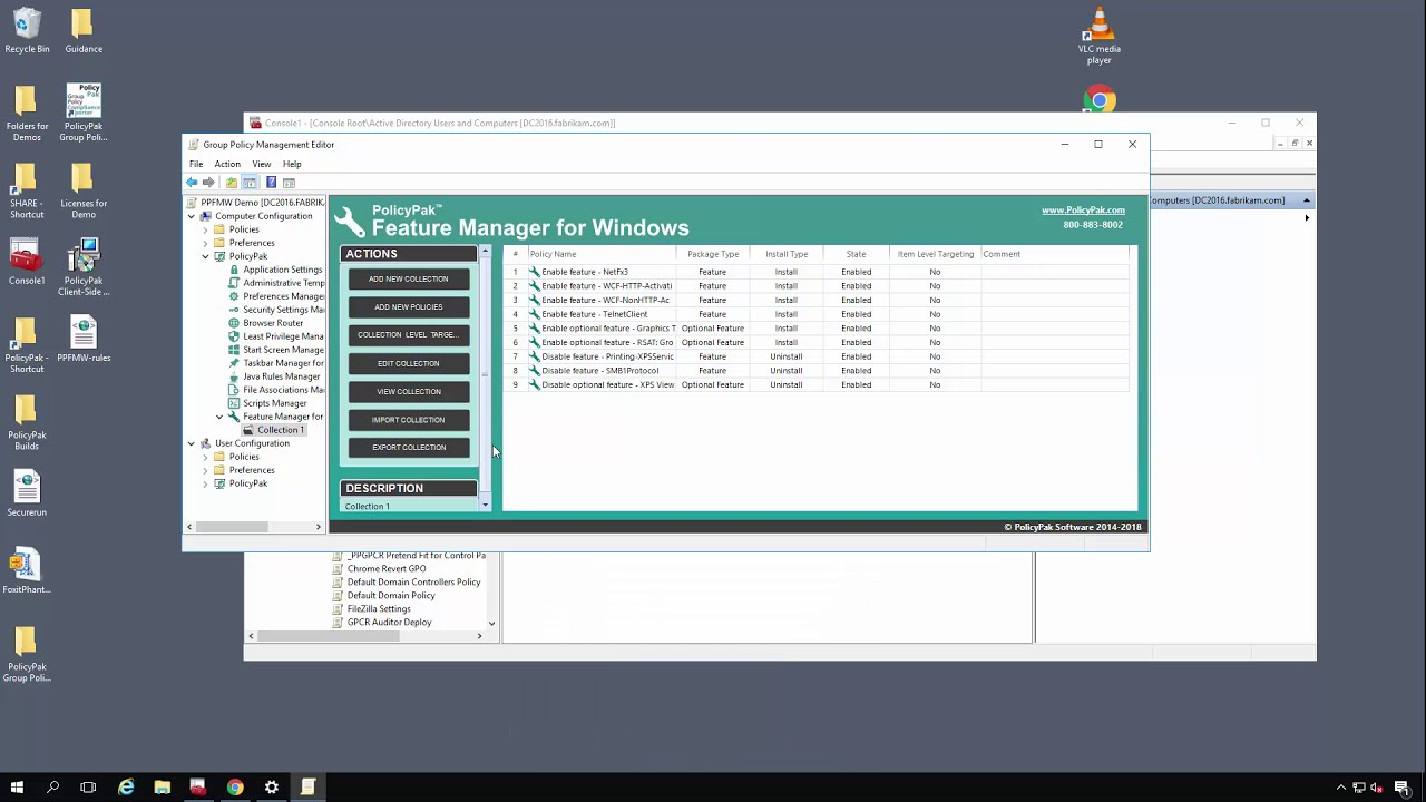 PolicyPak: Feature Manager for Windows + MDM