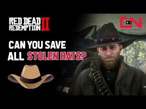 How to steal the CLASSIC RACCOON MOUNTAIN HAT in Red Dead