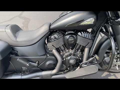 2019 Indian Chieftain® Dark Horse® ABS in Westfield, Massachusetts - Video 1