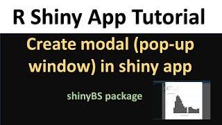 R Shiny Tutorial | add date range input widget to shiny app