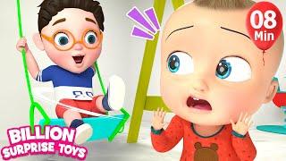 Indoor Playground Slides Song | BillionSurpriseToys Nursery Rhyme & Kids Songs