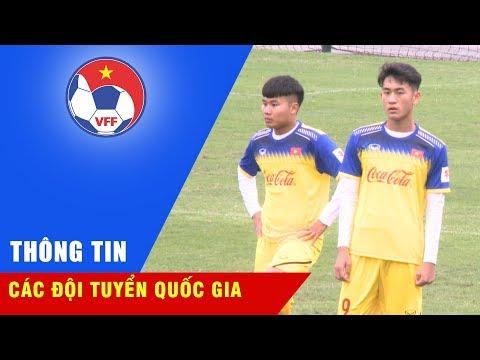 Đội tuyển U22 Việt Nam tập luyện trước thềm giải U22 Đông Nam Á