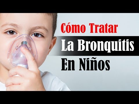 tratamiento casero para la bronquitis aguda
