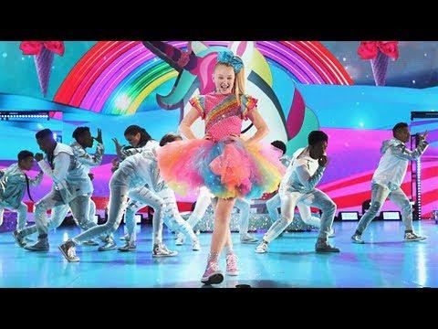 JOJO SIWA'S KIDS' CHOICE AWARDS FULL PERFORMANCE!! +EPIC SLIME!! (видео)